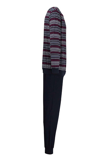 Homewear, Pijama M. Larga, 109881, BURDEOS