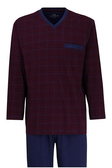 Homewear, Pijama M. Larga, 109882, BURDEOS