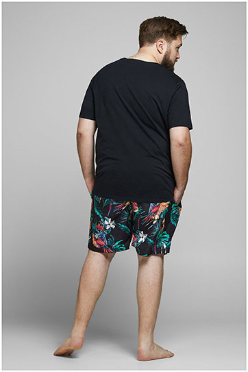 Pantalones, Bañadores, 109935, NEGRO