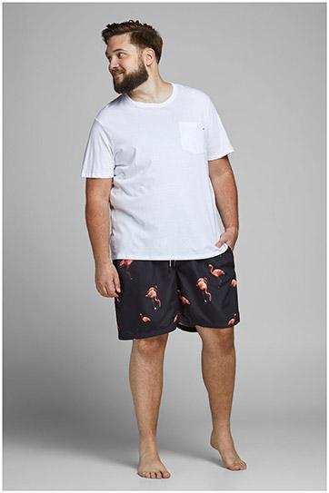 Pantalones, Bañadores, 109936, NEGRO
