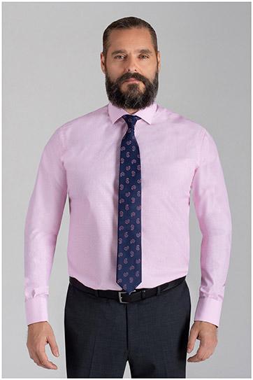 Camisas, Vestir Manga Larga, 110051, ROSA