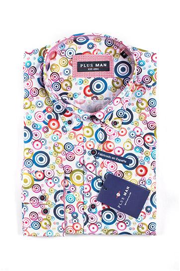 Camisas, Sport Manga Larga, 110065, MARINO