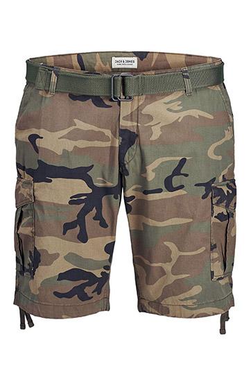 Pantalones, Bermudas, 110105, KAKI