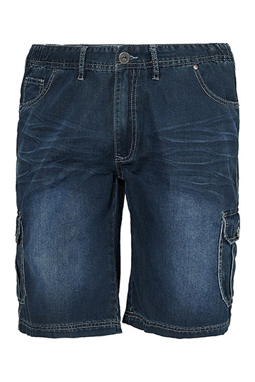 Pantalones, Bermudas, 110160, INDIGO