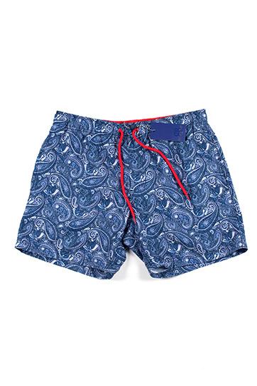 Pantalones, Bañadores, 110182, MARINO