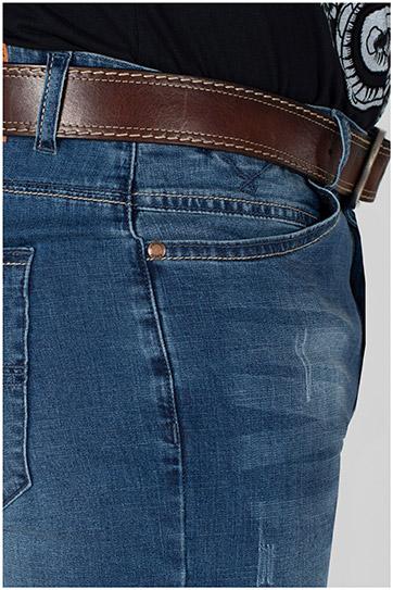 Pantalones, Bermudas, 110190, INDIGO