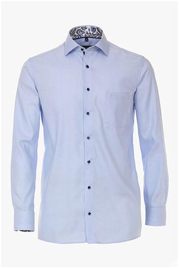 Camisas, Vestir Manga Larga, 110243, CELESTE