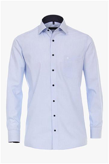 Camisas, Vestir Manga Larga, 110244, CELESTE