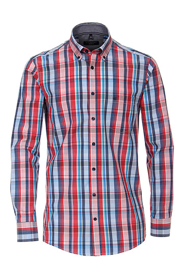 Camisas, Sport Manga Larga, 110296, MARINO
