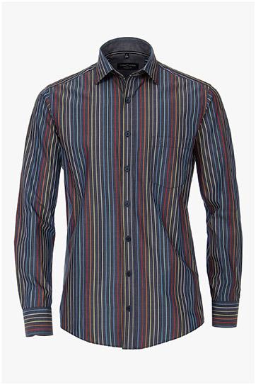 Camisas, Sport Manga Larga, 110300, MARINO