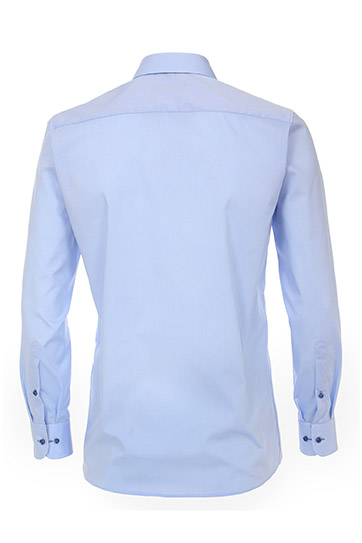 Camisas, Vestir Manga Larga, 110306, CELESTE