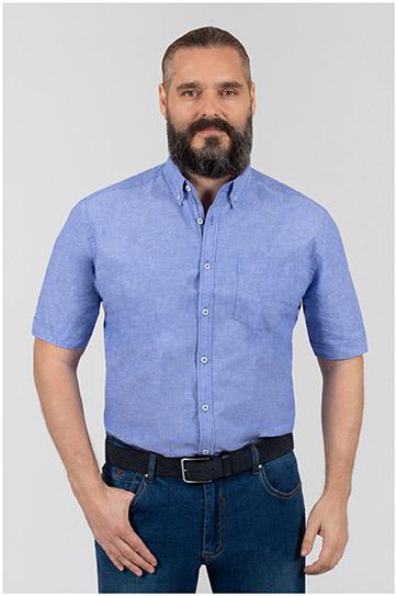 Camisas, Sport Manga Corta, 110348, AZUL