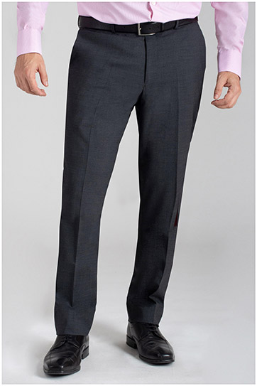 Pantalones, Vestir, 110359, GRIS MEDIO