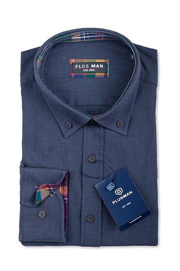 Camisas, Sport Manga Larga, 110422, MARINO