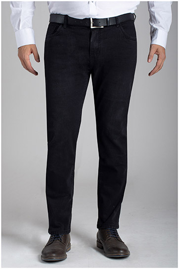 Pantalones, Vaqueros, 110467, NEGRO