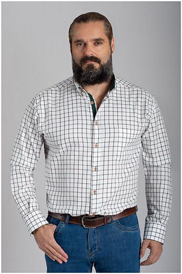 Camisas, Sport Manga Larga, 110475, CAZA
