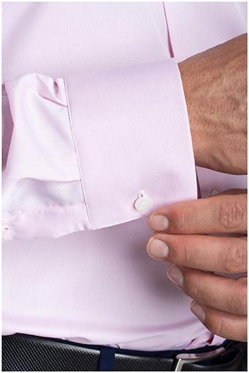 Camisas, Vestir Manga Larga, 110480, ROSA