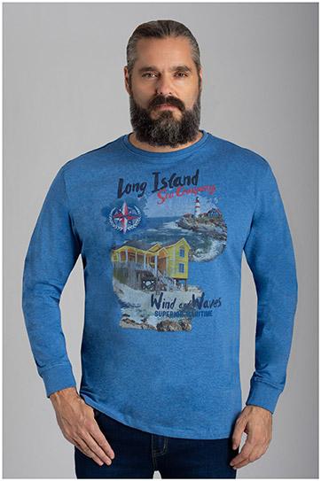 Sport, Camisetas M. Larga, 110486, INDIGO