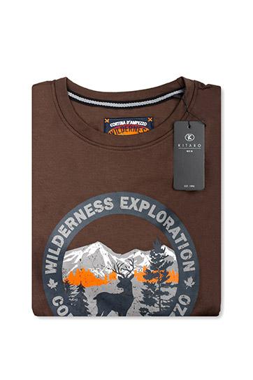 Sport, Camisetas M. Larga, 110487, MARRON