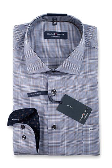 Camisas, Vestir Manga Larga, 110553, CELESTE