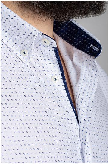 Camisas, Vestir Manga Larga, 110560, CELESTE