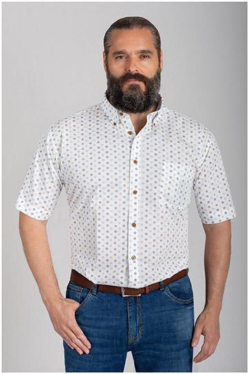 Camisas, Sport Manga Corta, 110573, AZUL