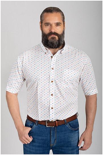 Camisas, Sport Manga Corta, 110573, ROJO