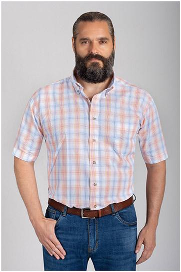Camisas, Sport Manga Corta, 110577, ROJO