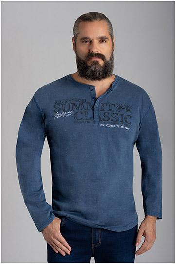 Sport, Camisetas M. Larga, 110590, AZUL