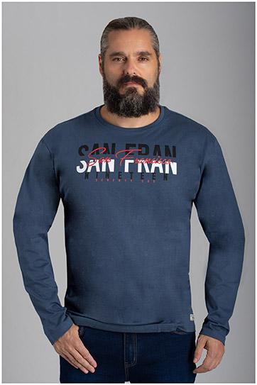 Sport, Camisetas M. Larga, 110591, PETROLEO