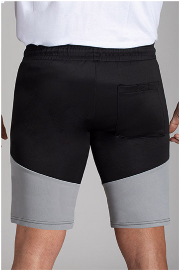 Pantalones, Bermudas, 110730, NEGRO