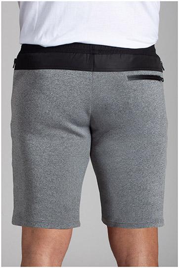 Pantalones, Bermudas, 110731, GRIS MEDIO