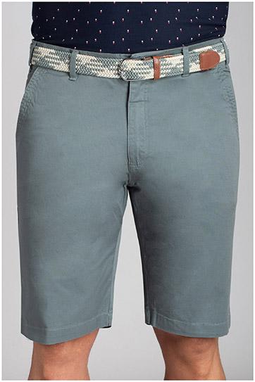 Pantalones, Bermudas, 110733, VERDE