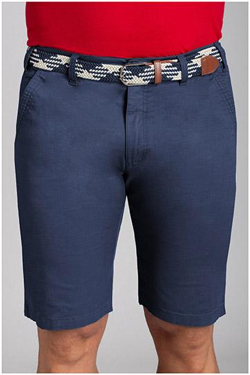 Pantalones, Bermudas, 110733, MARINO