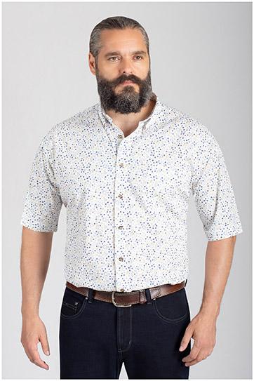 Camisas, Sport Manga Corta, 110856, AZUL