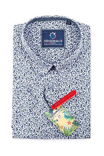 Camisas, Sport Manga Corta, 110859, MARINO