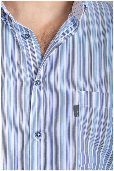 Camisas, Sport Manga Corta, 110875, MARINO