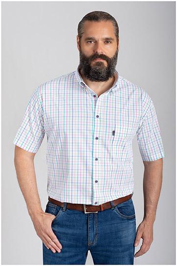 Camisas, Sport Manga Corta, 110876, MARINO
