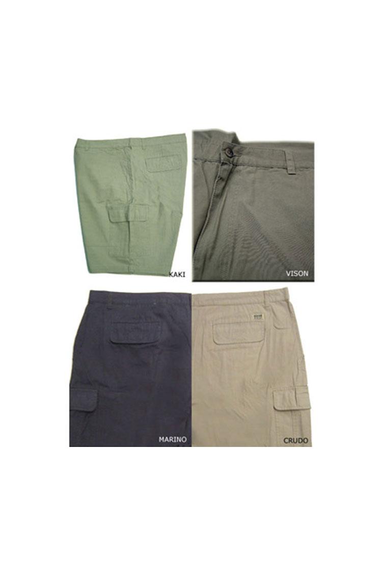 Pantalones, Bermudas, 101844, KAKI | Zoom