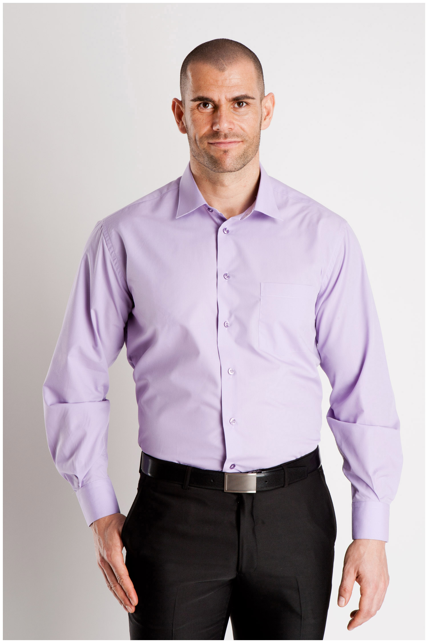 Camisas, Vestir Manga Larga, 102522, MALVA | Zoom