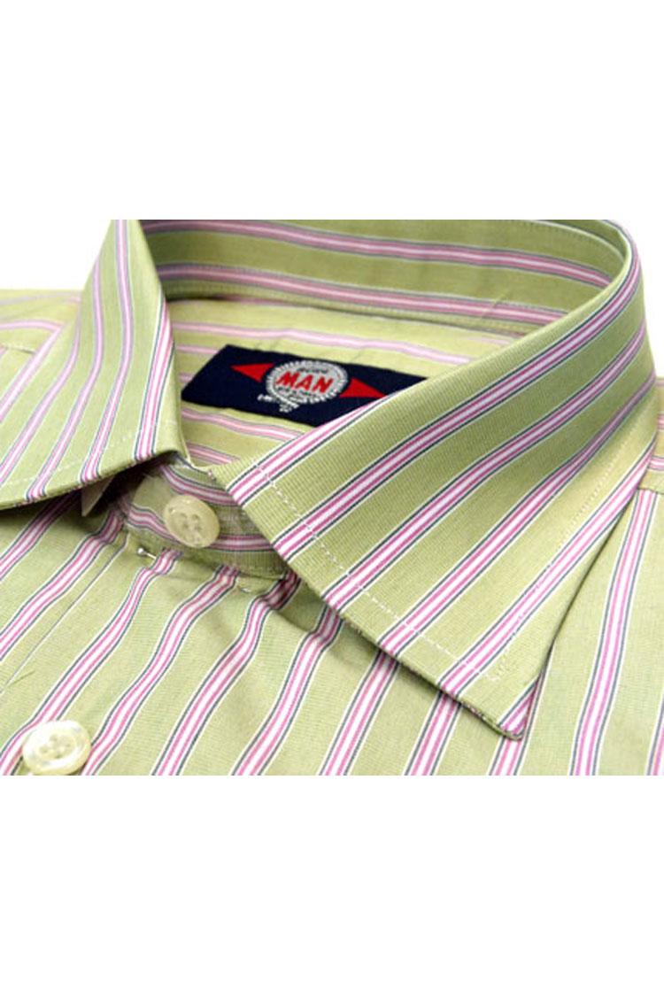 Camisas, Vestir Manga Larga, 103031, VERDE | Zoom