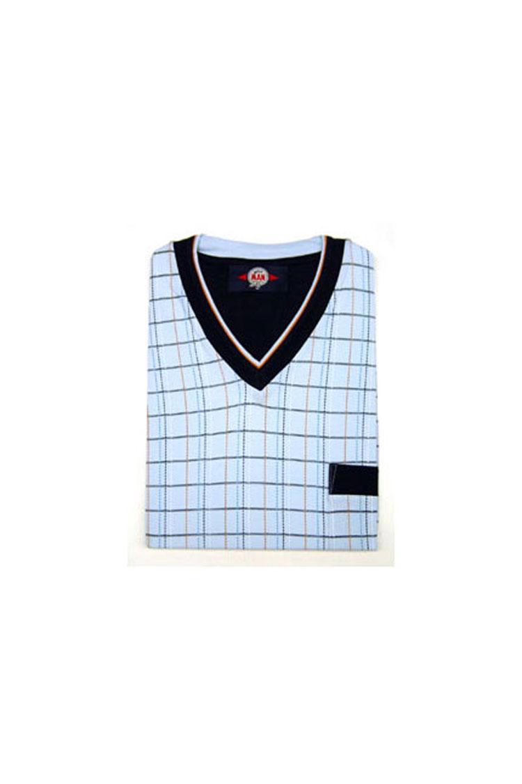 Homewear, Pijama M. Larga, 103302, CELESTE | Zoom