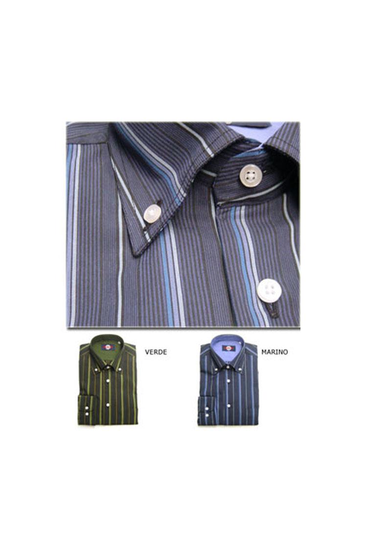 Camisas, Sport Manga Larga, 103326, AZUL | Zoom