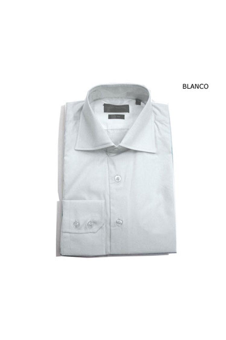 Camisas, Vestir Manga Larga, 103422, BLANCO | Zoom