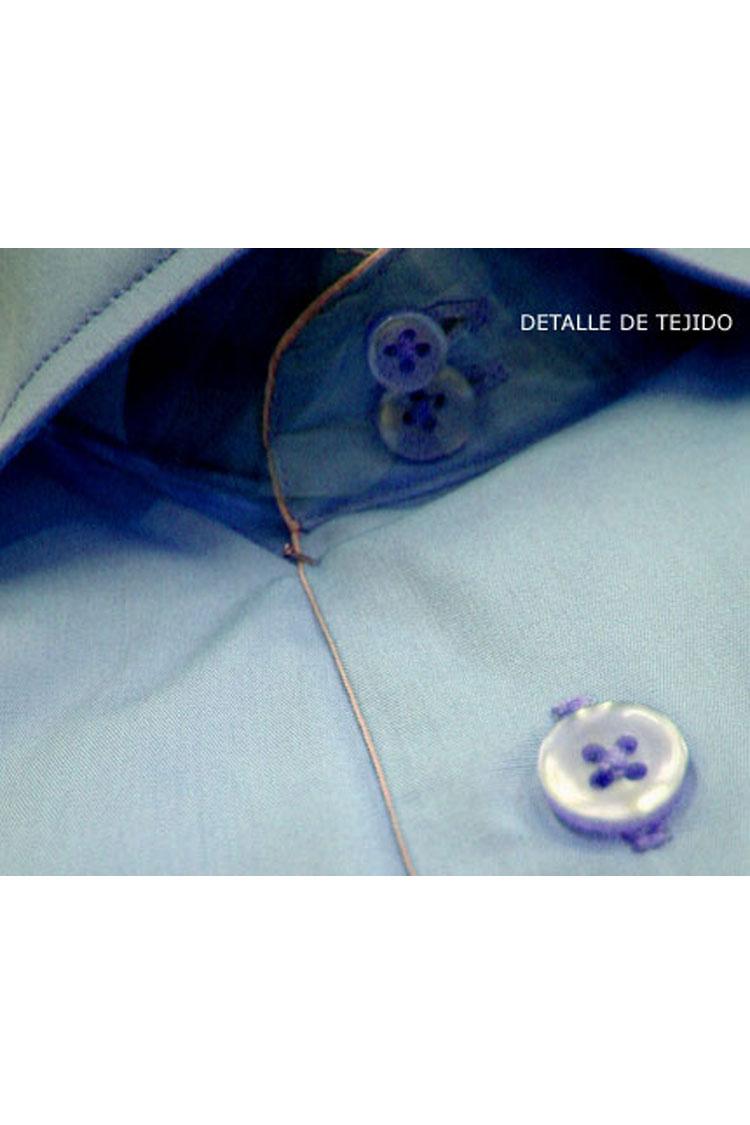 Camisas, Vestir Manga Larga, 103422, CELESTE | Zoom