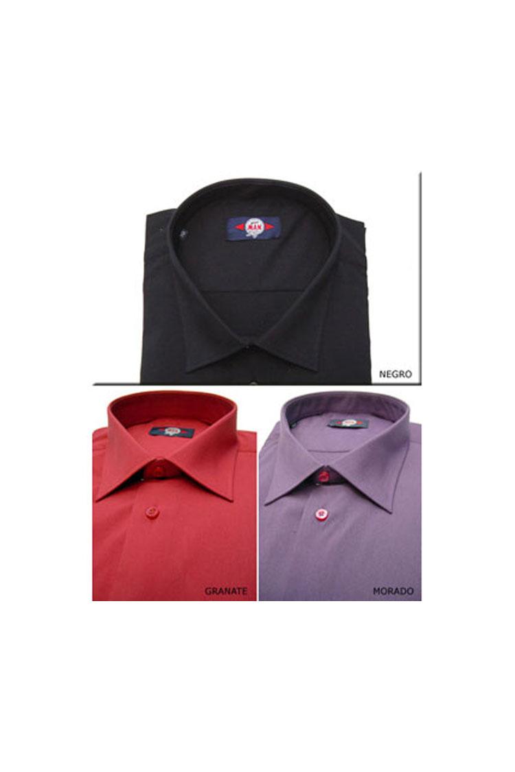 Camisas, Sport Manga Larga, 103983, GRANATE | Zoom