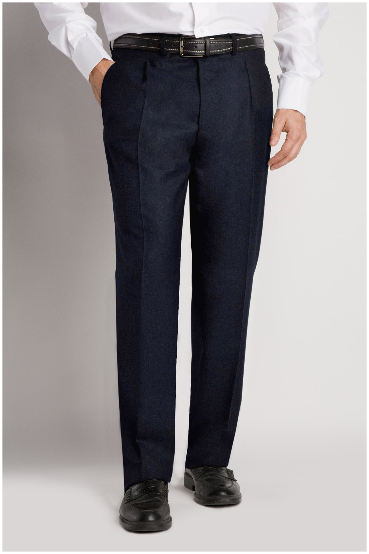 Pantalones, Vestir, 103992, MARINO | Zoom
