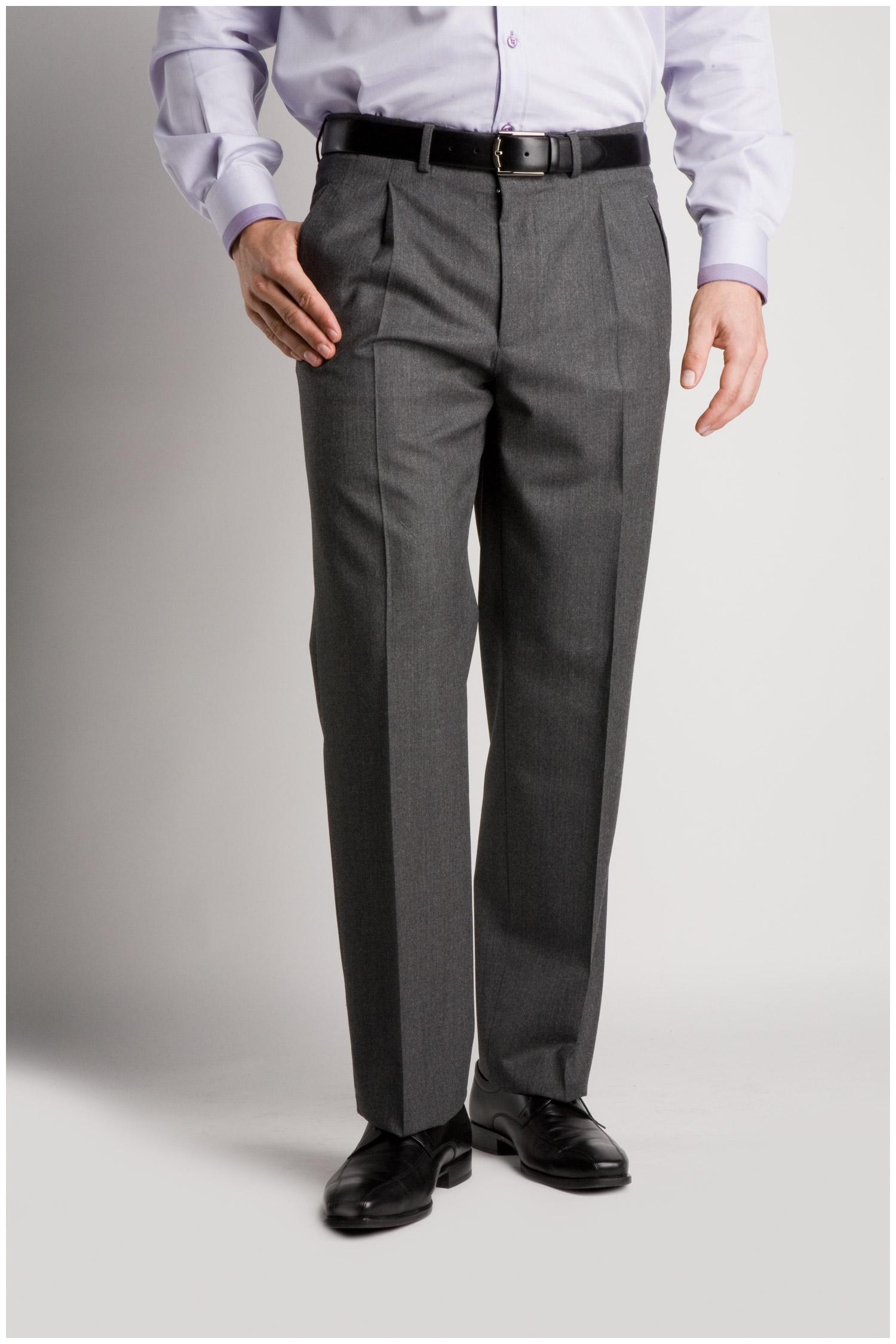 Pantalones, Vestir, 103992, GRIS MEDIO | Zoom