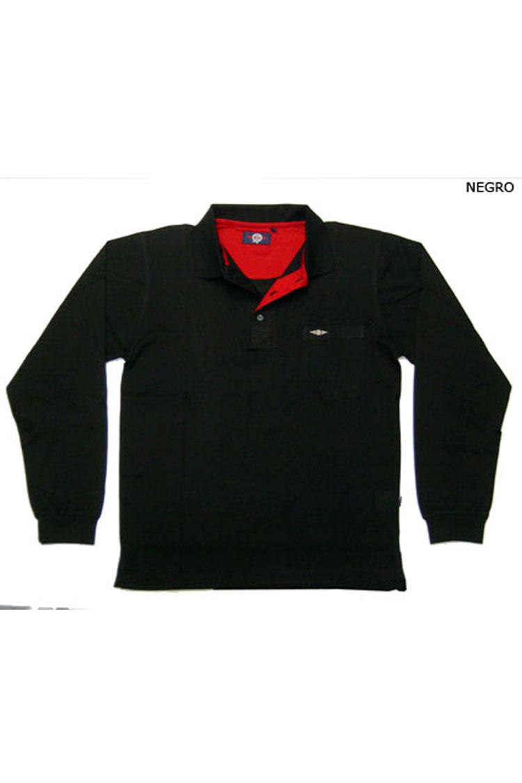 Sport, Polos M. Larga, 104110, NEGRO | Zoom