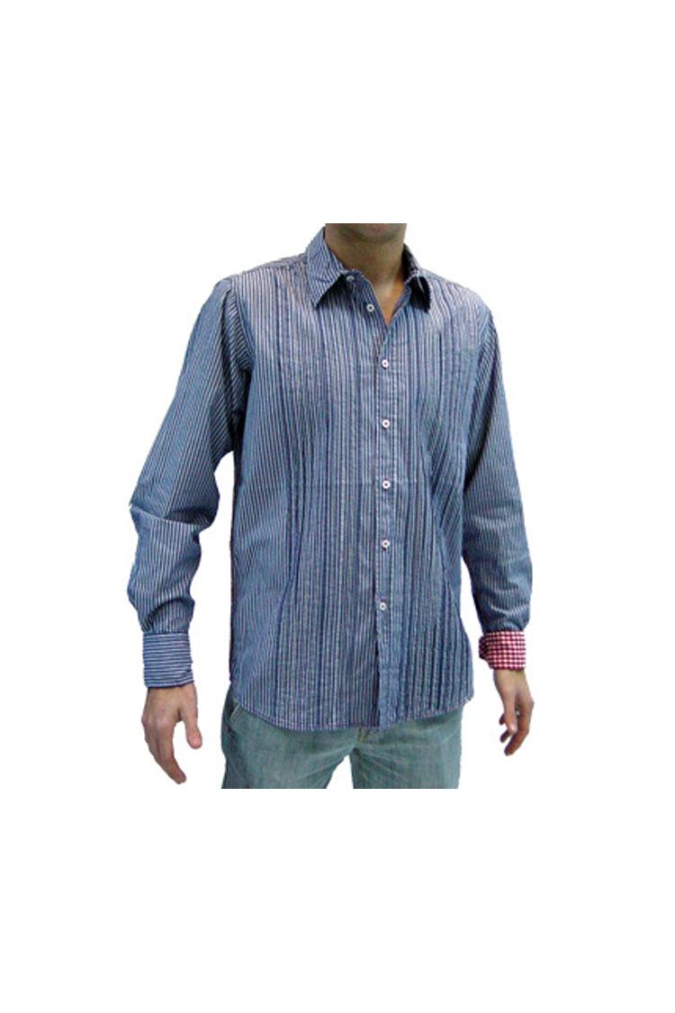 Camisas, Sport Manga Larga, 104131, MARINO | Zoom